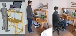 diy convertible standing desk elegant awesome work regarding ingo schommer diy sit stand desk s44
