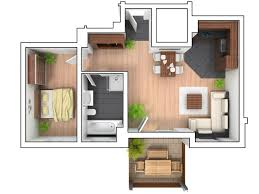 Small Apartment Floor Plans One Bedroom Small Apartment Floor Plan With One Bedroom Home Xmas