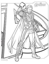 Small Picture 15 Free Printable Avengers Age of Ultron Superhero Coloring Pages