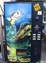 Bait Vending Machine Unique Live Bait Vending Machine Shits Giggles Pinterest Vending
