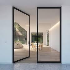 portapivot 6530 double door black anodized by portapivot internal doors