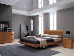 modern style bedroom furniture. contemporary home decor ideas grey walls with wood furniture beds and modern bedroom decorating in style
