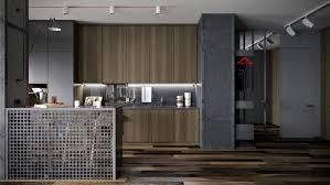 Industrialapartmentdesign Interior Design Ideas - Industrial apartment