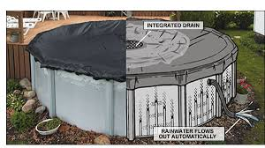 above ground pool winter covers. Above Ground Pool Winter Covers EASYDOME ROUND ABOVE GROUND SOLID WINTER  COVERS \u2013 Easydome Photo Gallery Above Ground Pool Winter Covers