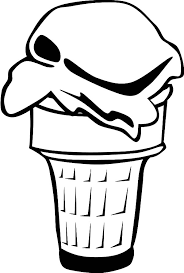 Small Picture Dessert Menu is Ice Cream Cone Coloring Pages Bulk Color