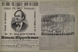 「P.T. Barnum's Great Roman Hippodrome.」の画像検索結果