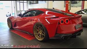The 812 superfast dimensions is 4657 mm l x 1971 mm w x 1276 mm h. Ferrari 812 Superfast Start Up Revs Accelerations 2018 Amazing V12 Sound Youtube