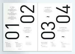 color index book designing the perfect table of contents exles to show you use big bold