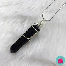 black tourmaline necklace black tourmaline pendant black tourmaline bracelet black tourmaline wire wrap necklace wire wrap crystals