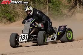 sparks racing s michael coburn sets pikes peak hill climb atv