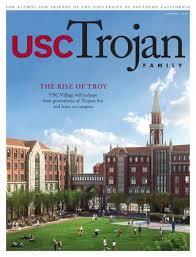 Usc Depth Chart 2014 Trojan Family Magazine Autumn 2014 By University Of Southern