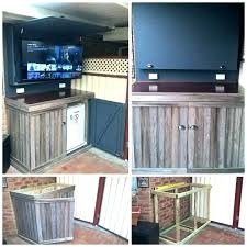 Outdoor Tv Stands Weatherproof Cabinet Ideas Stand Outside Decorating Tips From Joanna Gaines Outd