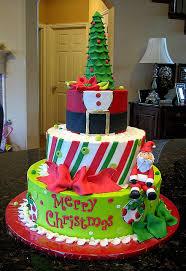 Galería de bonitos pasteles de Navidad.