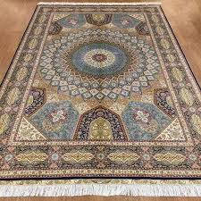 china hand knotted oriental silk persian rugs 6 x 9 china silk rugs persian rugs