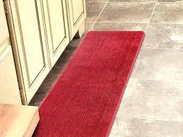 room red bath rugs bright