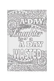 coloring postcards. Modren Postcards WAMA Coloring Postcards A Day Without Laughter With O