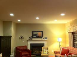 recessed lighting how to place in living room