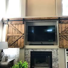 sliding tv barn door set rustic tv barn door sliding window interior sliding tv cover barn door cabinet farmhouse door