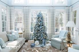 Top 40 Blue And White Blue And Silver Christmas Decoration Ideas Blue Christmas Tree Ideas