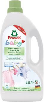 """<b>Жидкое средство</b> """"Frosch"""" для <b>стирки</b> детского белья, 1,5 л ..."""
