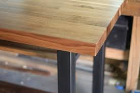 Buy A Hand Crafted Walnut Steel Kitchen Island Made To Order From
