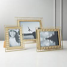 Image Decor Brass Trax Frames Rustymilldecor Modern And Unique Picture Frames Cb2