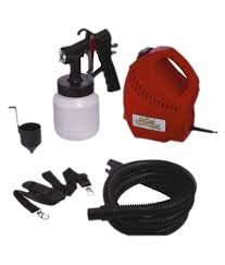 ibs paintsprayer paint sprayer pro red spray painting home portable tool kit with spray nozzle