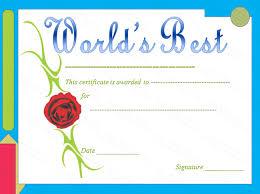 Mothers Day Certificate Template Barca Fontanacountryinn Com