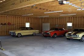 Traditional 4 Bay Garage With Loft In The Size Of 30681  58u0027 X 4 Car Garage Size