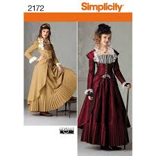 Steampunk Patterns Gorgeous Simplicity Pattern 48 Misses' Steampunk Costume