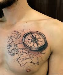 compass design 120 best compass tattoos for men improb