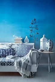 Sainsburys Bedroom Furniture The Moroccan Blue Range From Sainsburys Is All About Bold