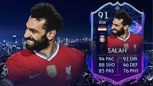 FIFA 21: MOHAMED SALAH 91 RTTF PLAYER REVIEW I FIFA 21 ULTIMATE TEAM -  YouTube