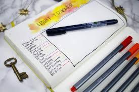 use a blank notebook