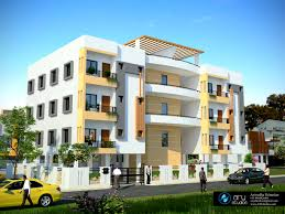 Modern Apartment Building Design Fanciful Contemporary Apartment - Modern apartment building elevations
