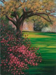 one of lee hammond s landscape paintings from lee hammond s big book of acrylic painting