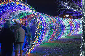 Scentsy Christmas Lights 2018 Walk Through A Christmas Lights Tunnel At Scentsy Commons In
