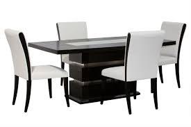 black and white modern furniture. Wonderful Black And White Dining Room Chairs Createfullcircle Pertaining To Popular Modern Furniture -