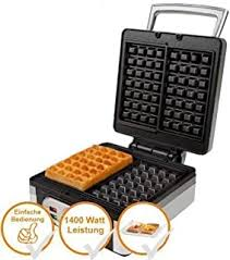1400 Watt - Waffle Makers & Irons / Small Kitchen ... - Amazon.de