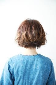 2019年春デジタルパーマボブカットおすすめヘアスタイル短い髪でも