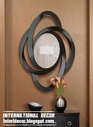 modern mirror frames round mirror