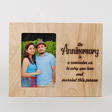 personalised anniversary end frame gifts for anniversary