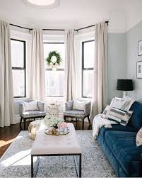 Bay Window Living Room Design
