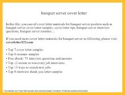 Banquet Server Resume Examples New Banquet Server Resume Job Description For Catering Letsdeliverco