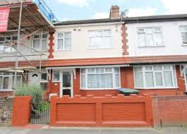 Thumbnail 3 Bed Terraced House To Rent In Exeter Road, London