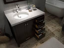 36 inch bathroom sink top luxury ace cambridge 37 inch single sink bathroom vanity set left