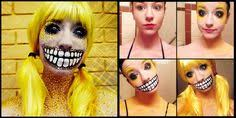 stephanie fernandez a self taught freelance makeup artist and photographer from shreveport louisiana has taken a series of photos that doent her