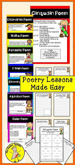 Types Of Poetry Anchor Chart Poetry Unit With Anchor Charts Its About Time For