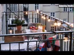 cozy balcony lighting ideas balcony lighting