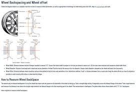 Rim Measurement Chart Wheel Offset Help Plead Polaris General 1000 Forum